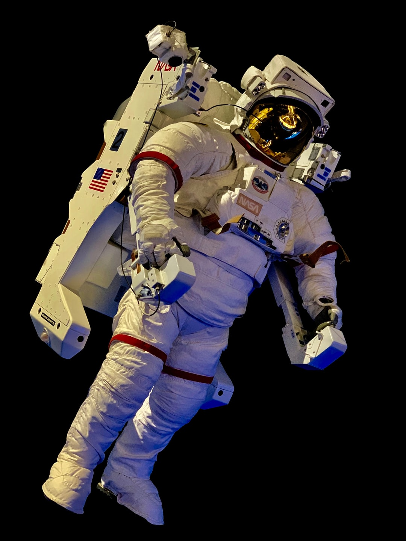Austronaut suit @ Kenedy Space Center, Florida