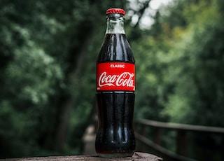Coca-Cola glass bottle