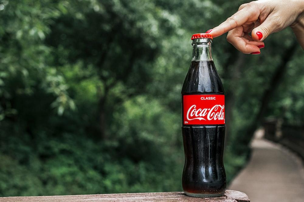Coca-Cola Classic glass bottle