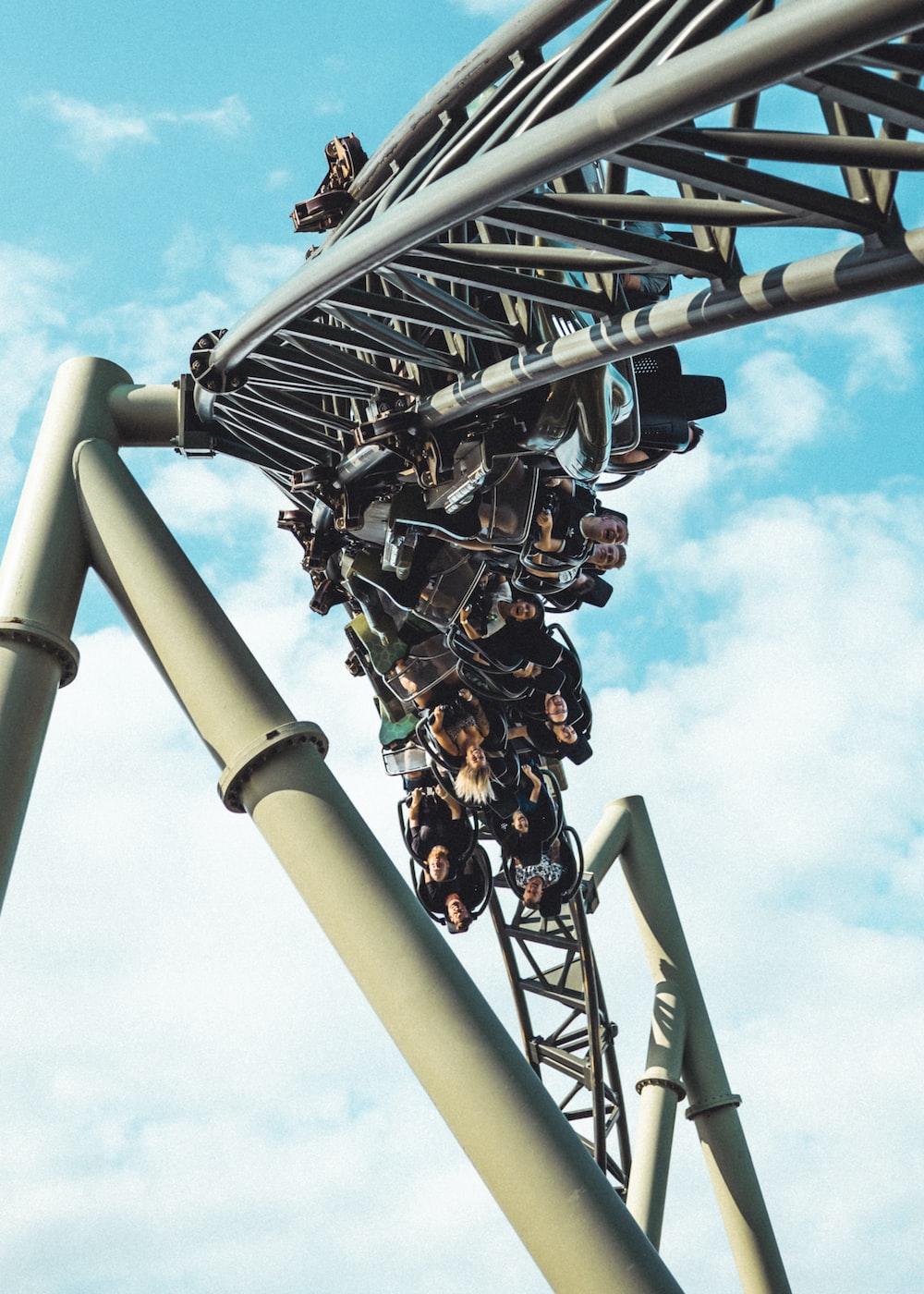 gray roller coaster