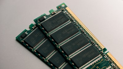 2 ram module circuit boards