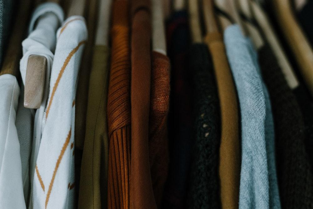 assorted-color apparel lot