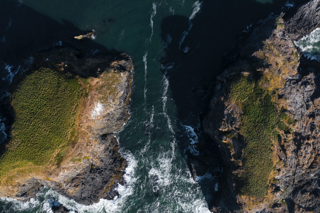 Final shot from my sea monolith series. Flying $1,500 worth of camera equipment over the ocean is certainly nerve wracking but I love that perspective you can't get while standing on a beach. He's one last photo of the frigid Pacific Ocean in southern Oregon.