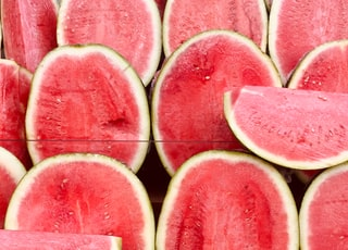 green watermelon fruits