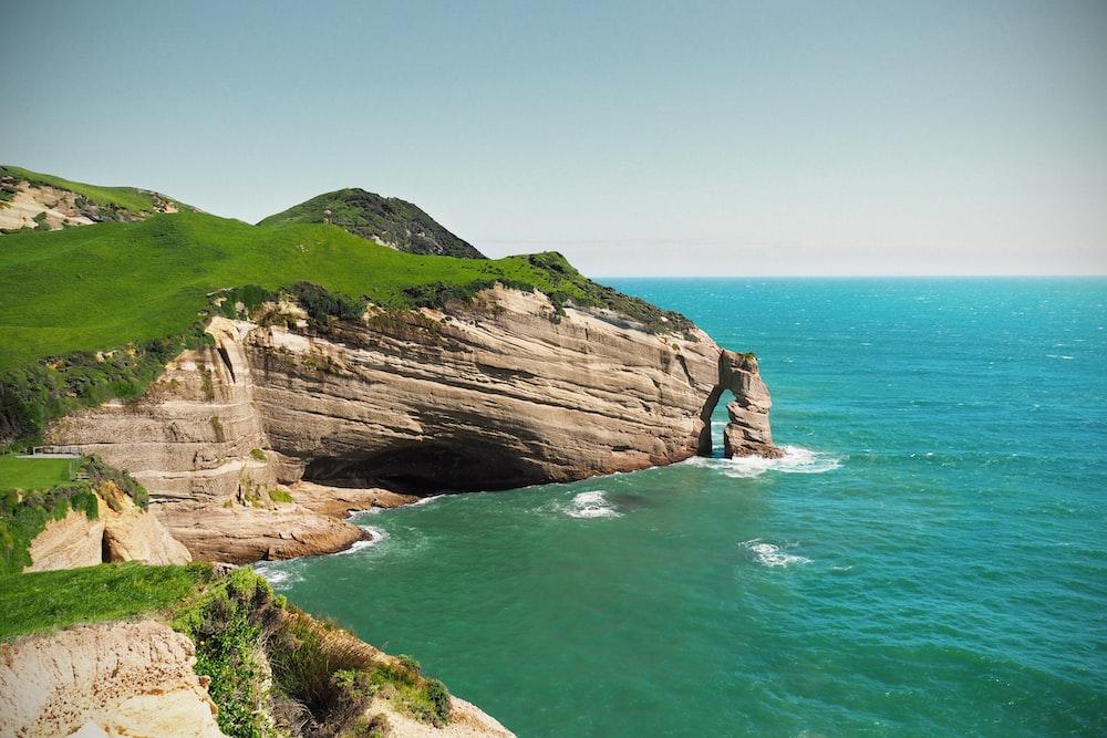 cliff near sea