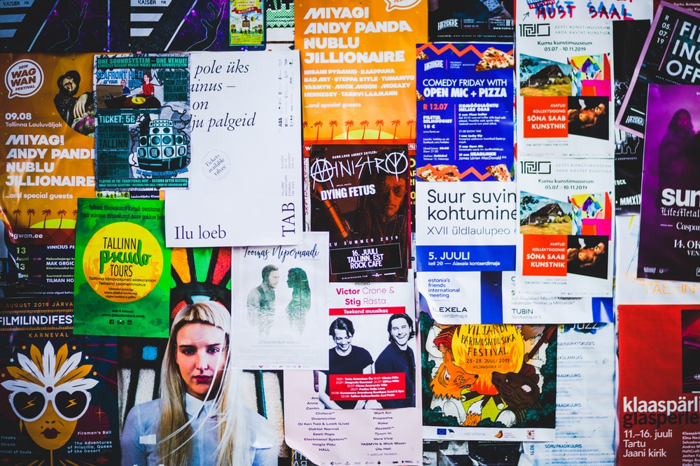 assorted posters