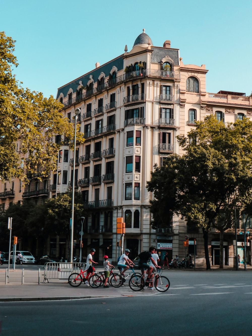 bikes on street