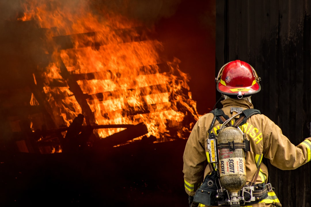 Lieutenant observing the practice fire