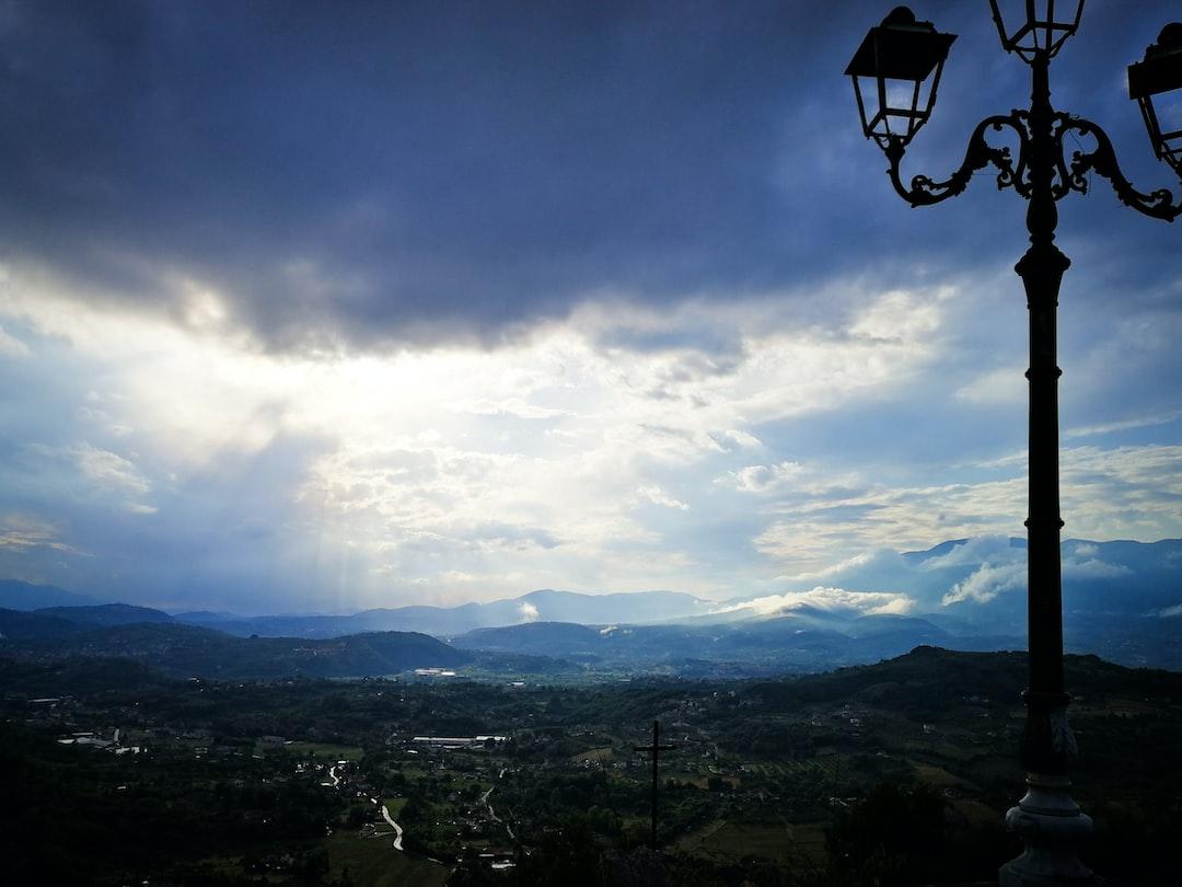 Phone Snapshot of the view from Arpino.