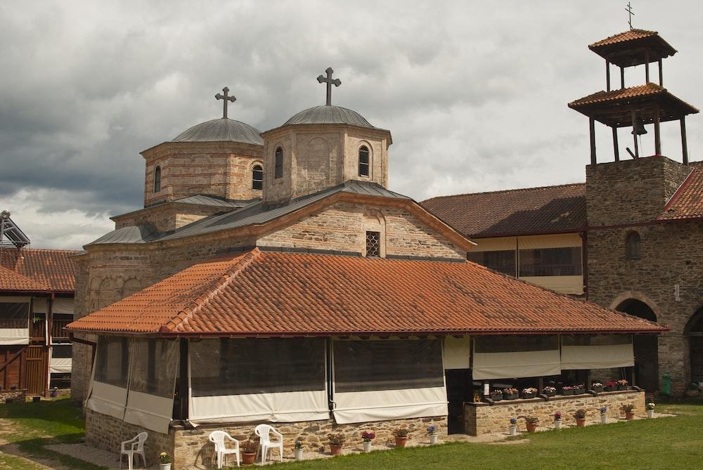 church with hall area