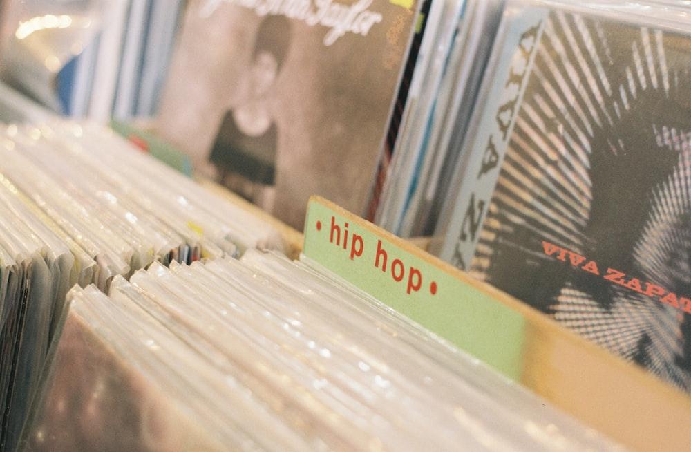 record sleeve lot