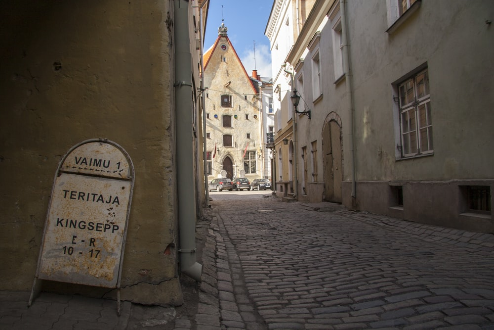 street in city