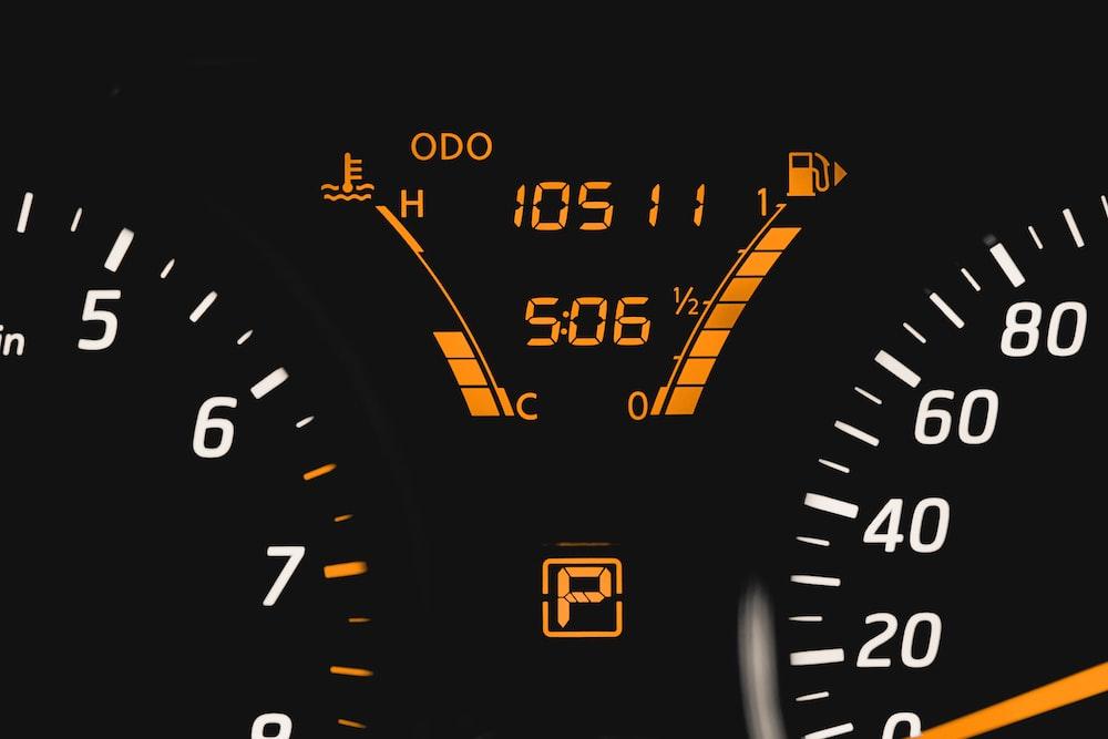 turned-on gauge