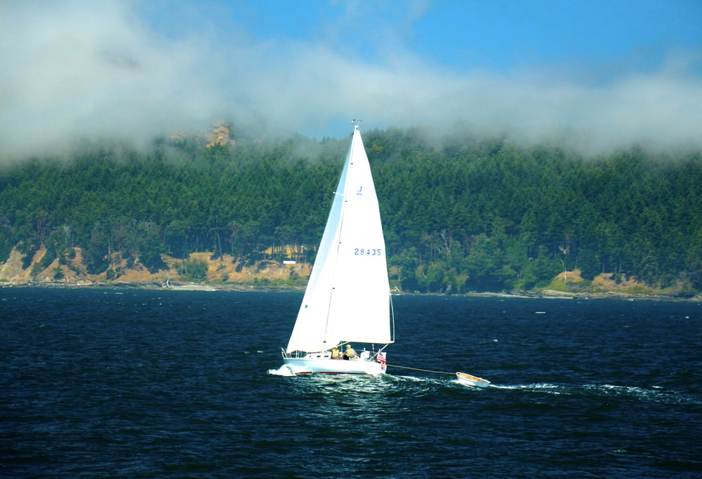 boat sailing on ocean during daytime