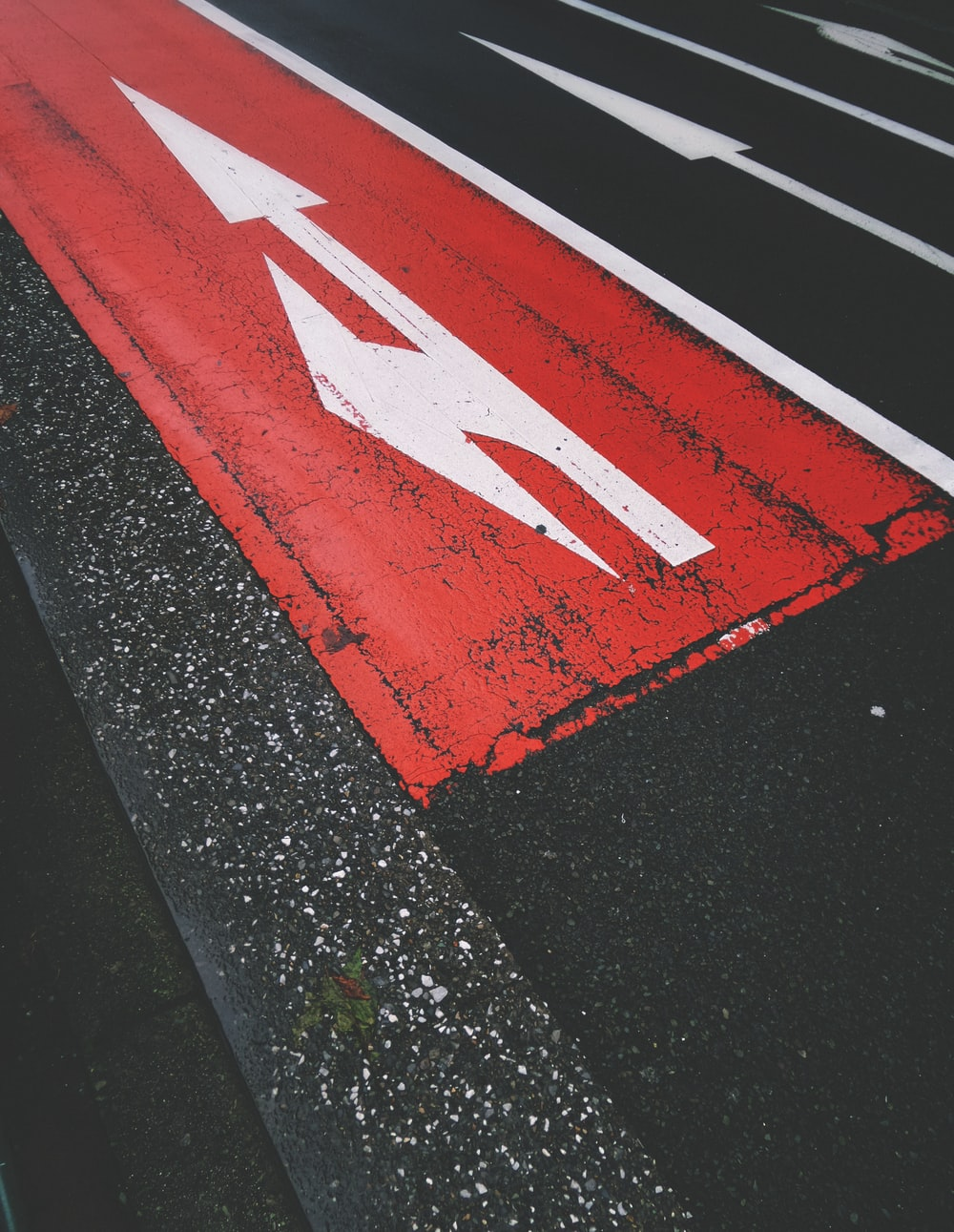 red and white road during daytime