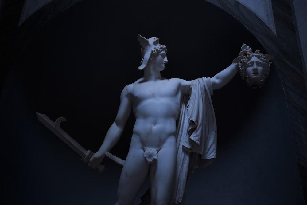 nude man statue