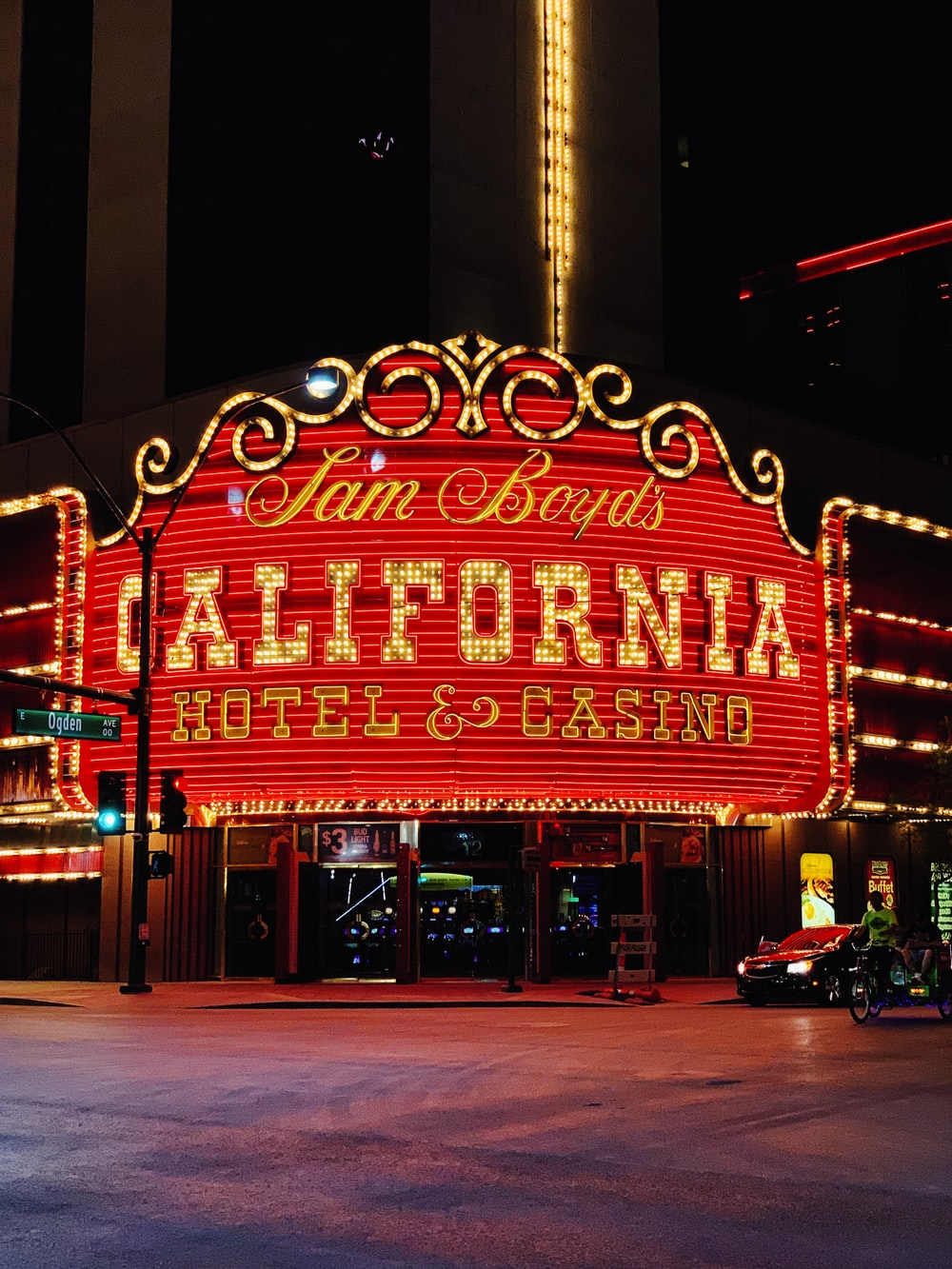 Sam Boyd's California Hotel & Casino front during day