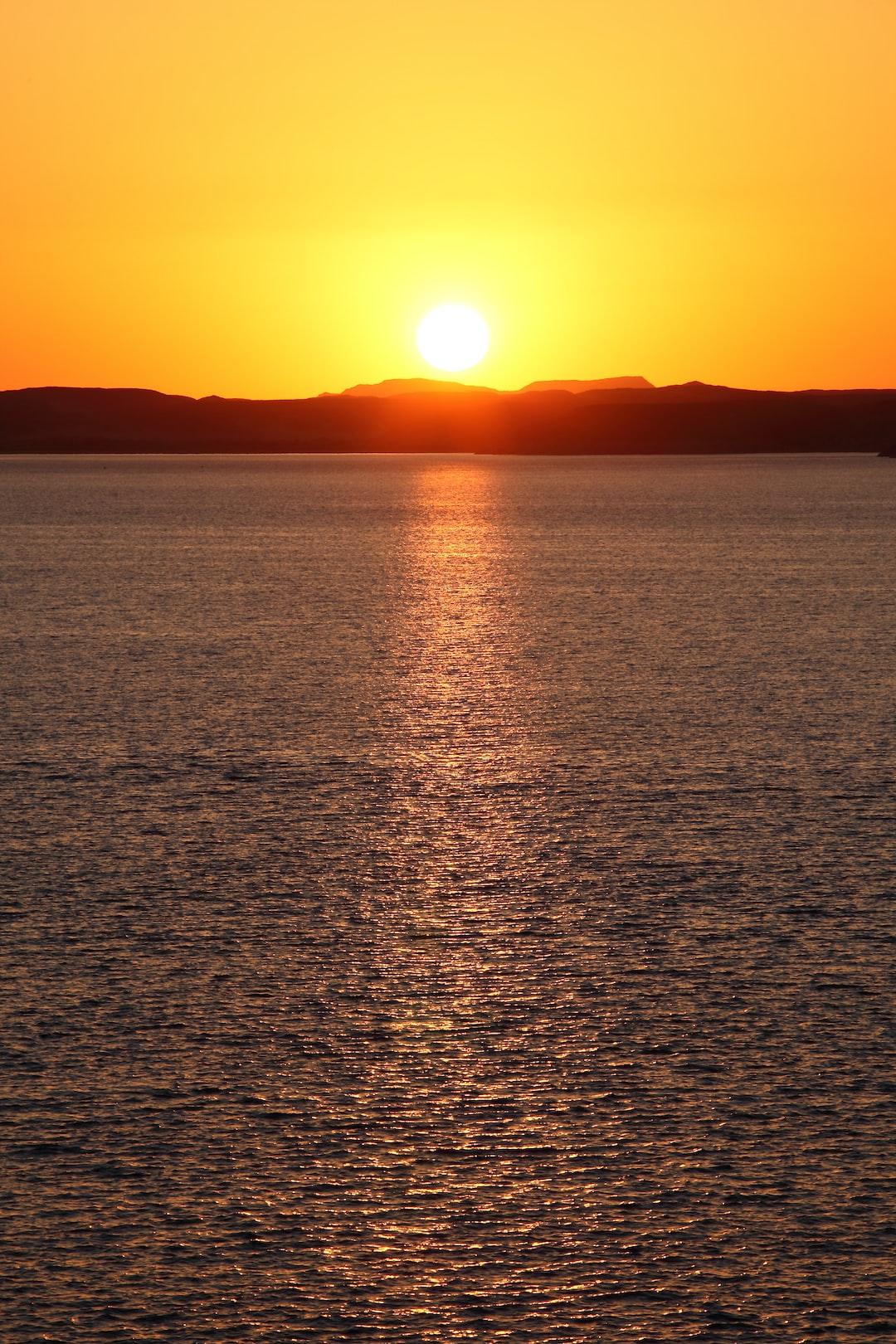 Egypt sunset nile river