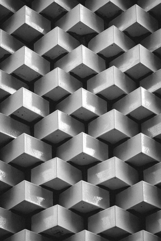 pile of gray blocks