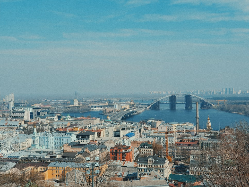 a snippet of Andriyivskyy Descent Top attractions to cover in Kiev.