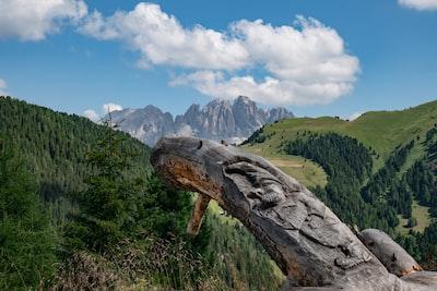 photography of mountain range during daytime
