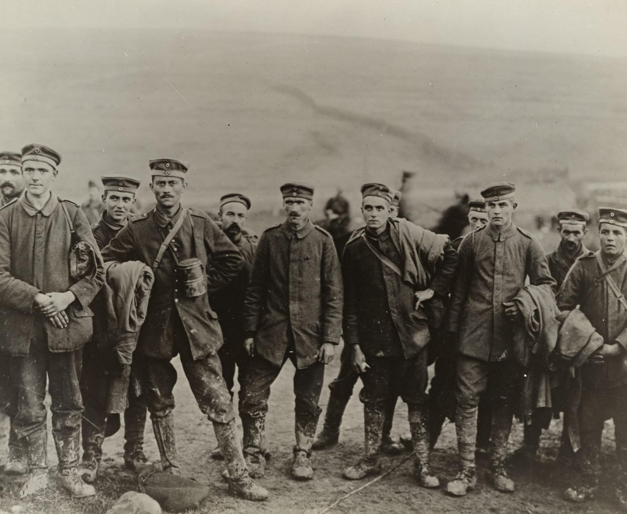 German prisoners in 1917