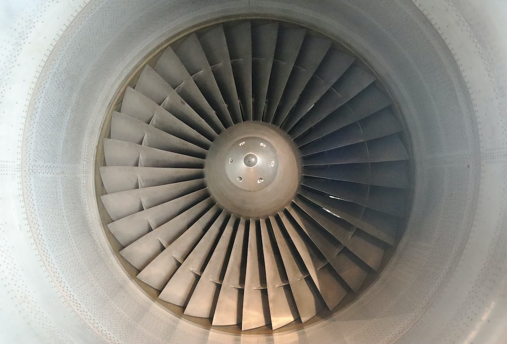 close-up photo of fan