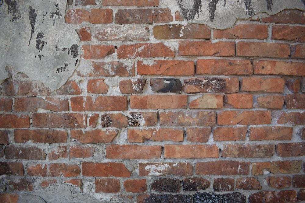 brown brick wall