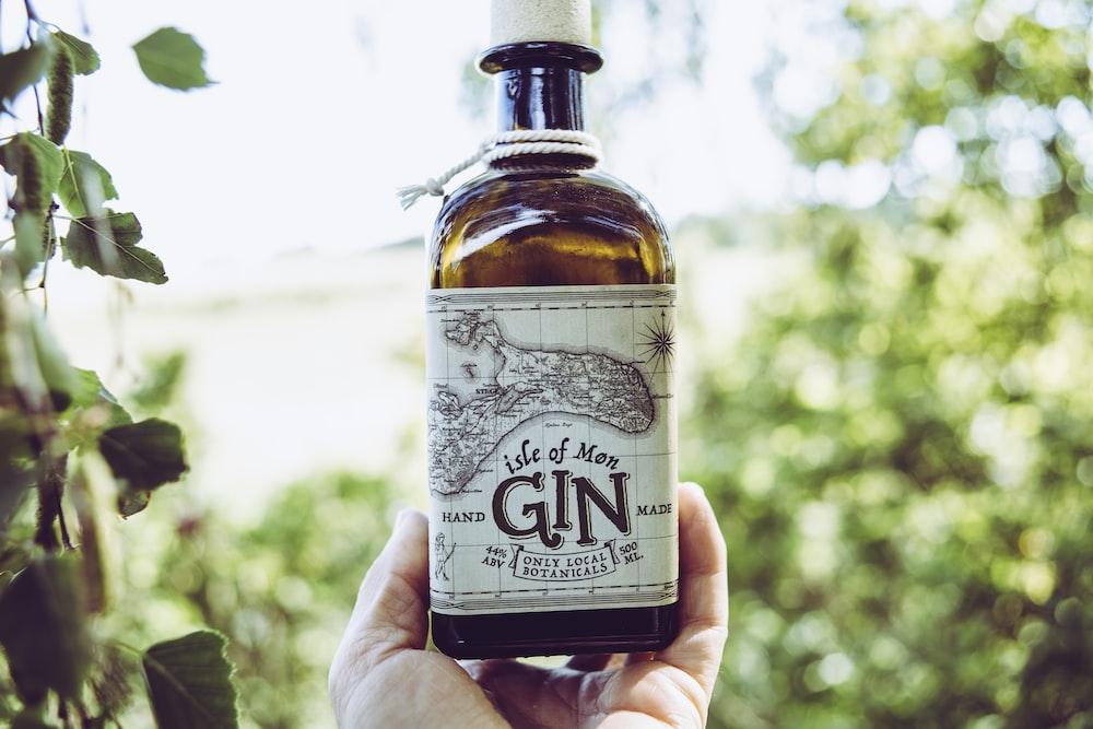 Isle of Men Gin bottle