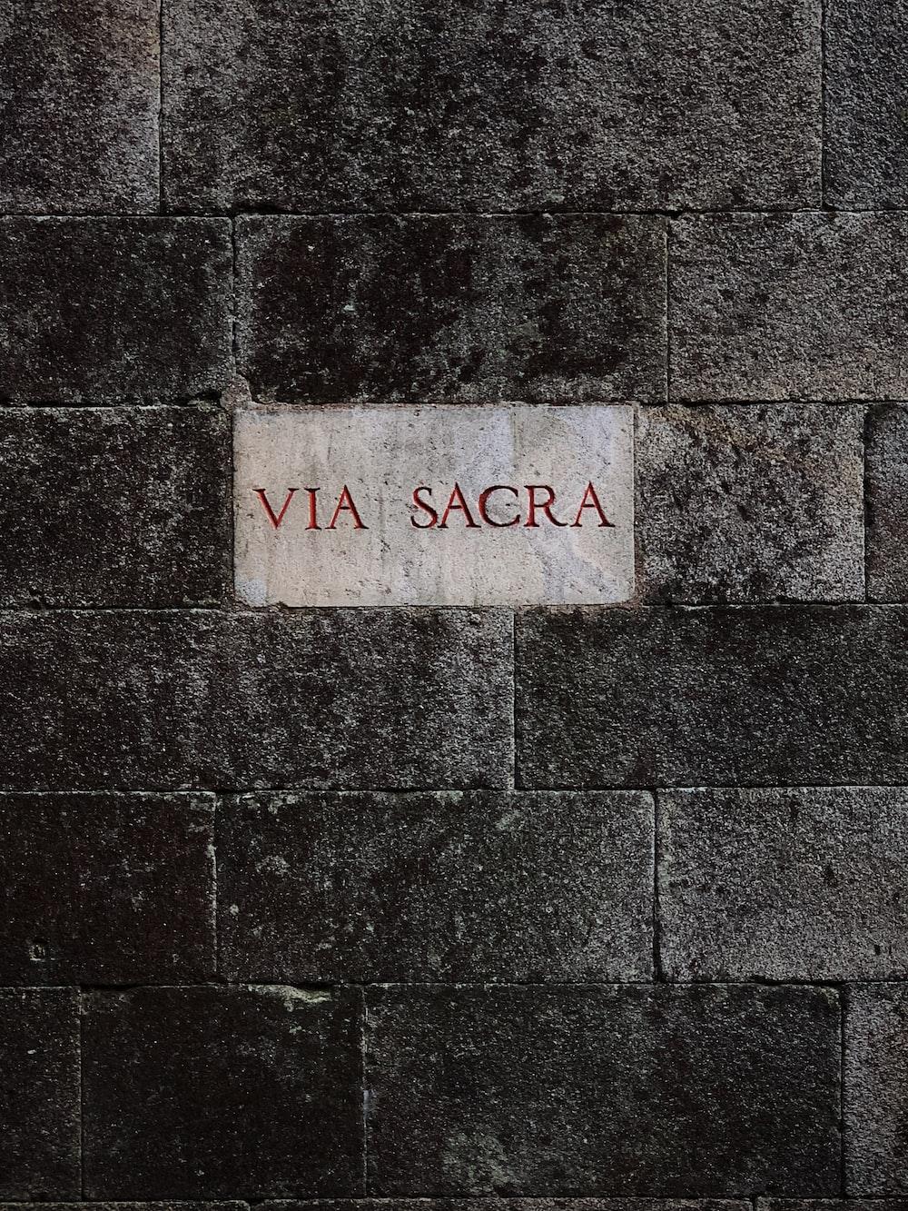 Via Sacra print