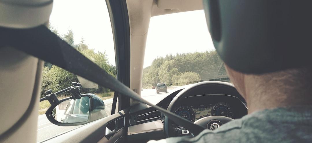 Driving in a Volkswagen