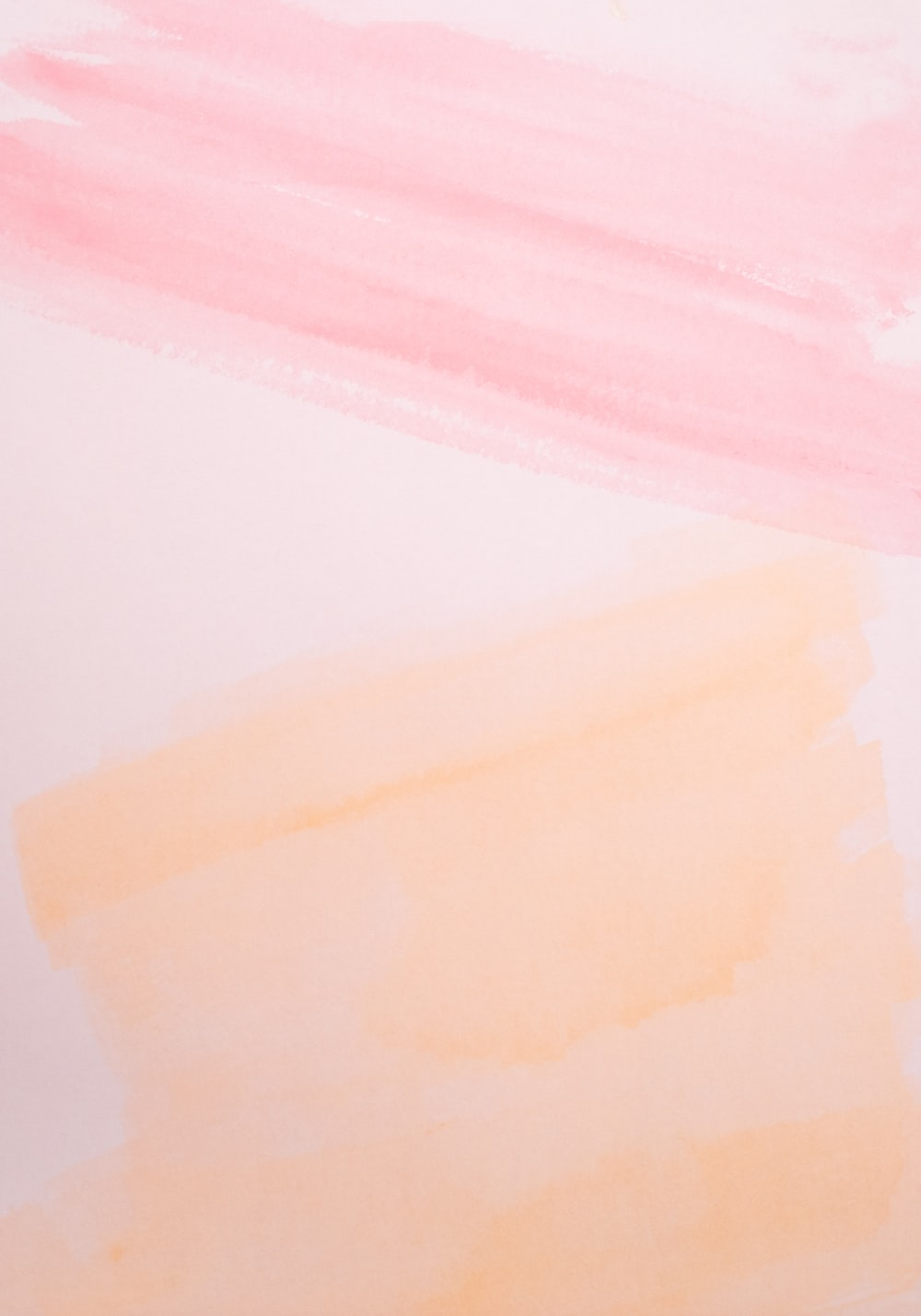 pink and orange paints