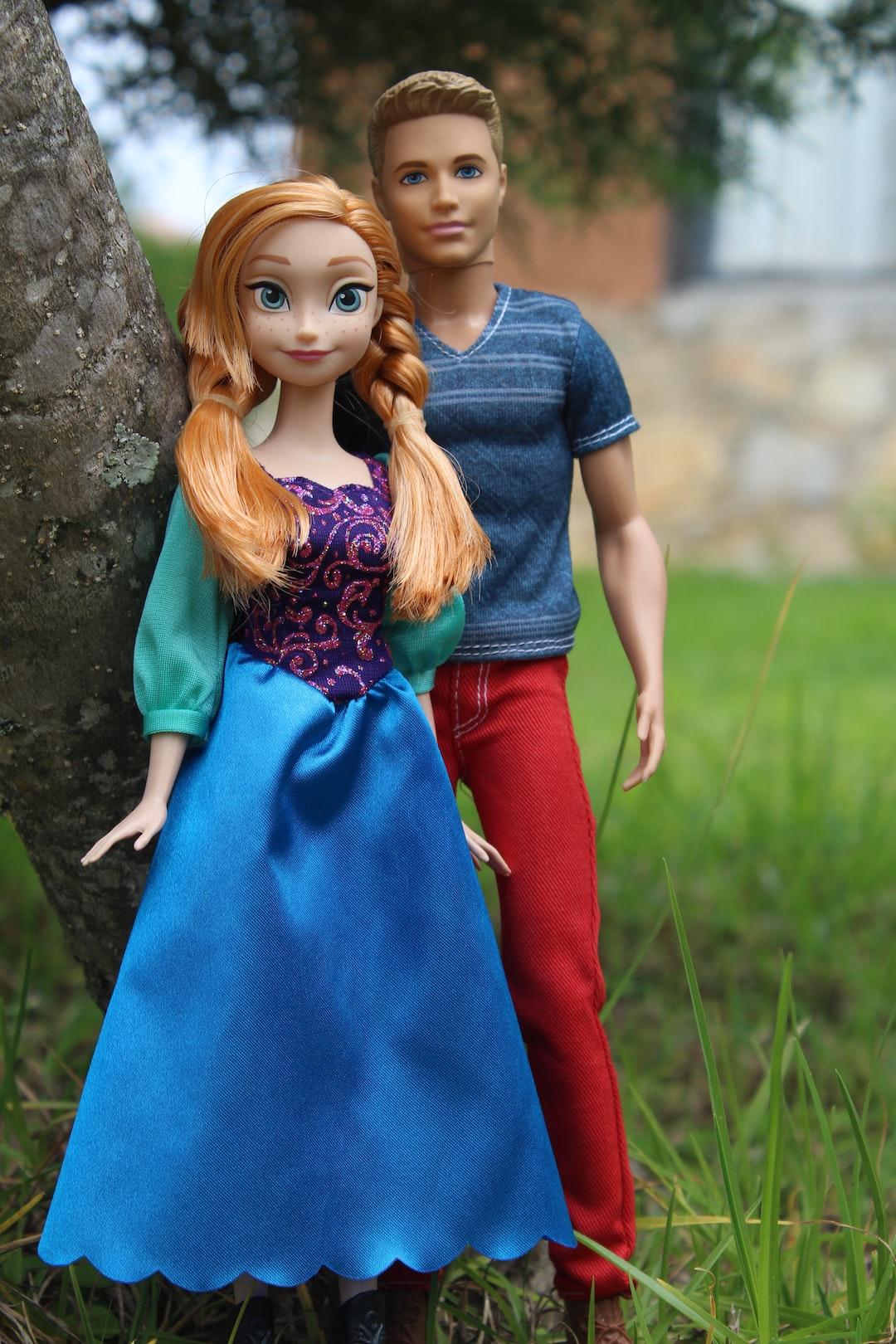 Princesa Anna y ken.