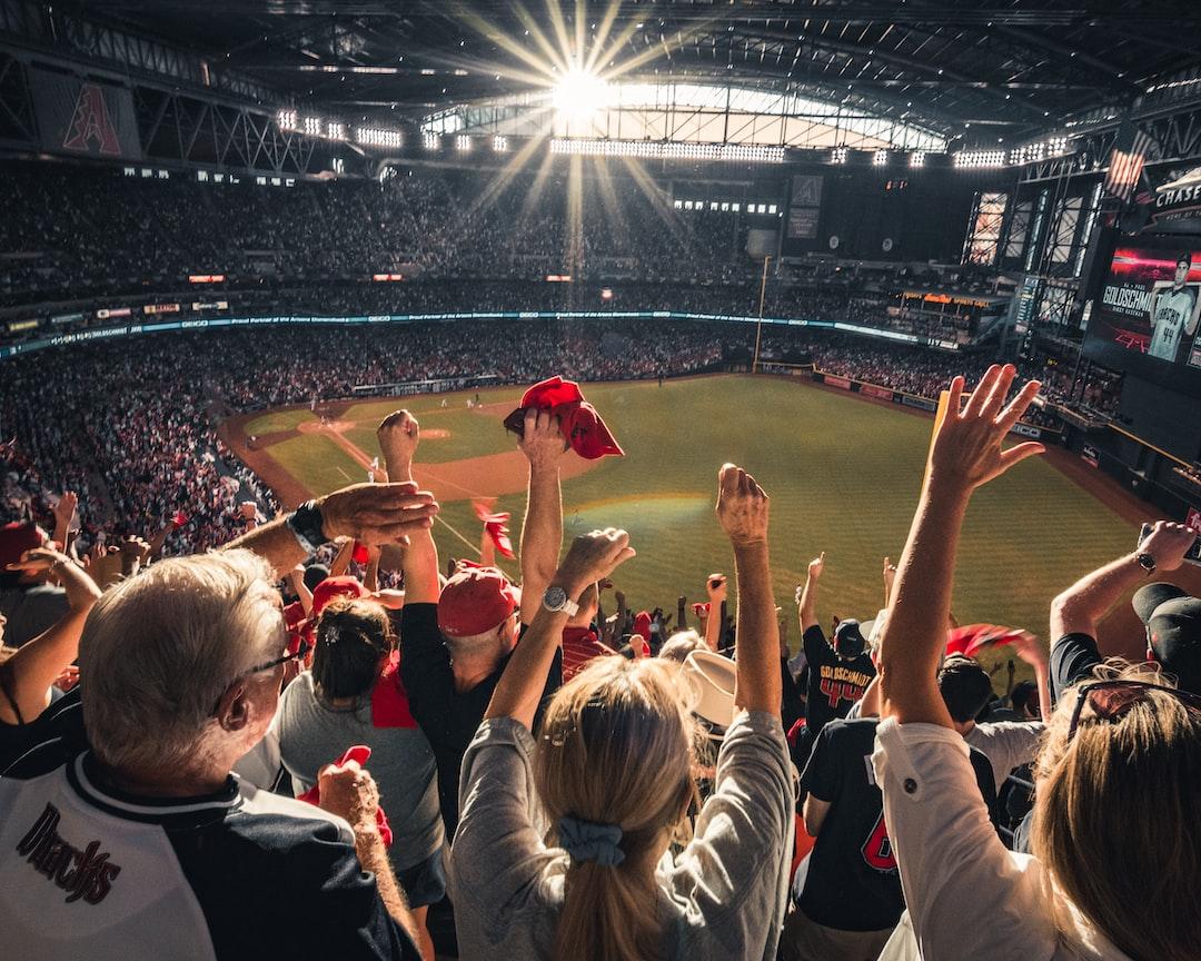 Celebrating a home run at a baseball playoff game.