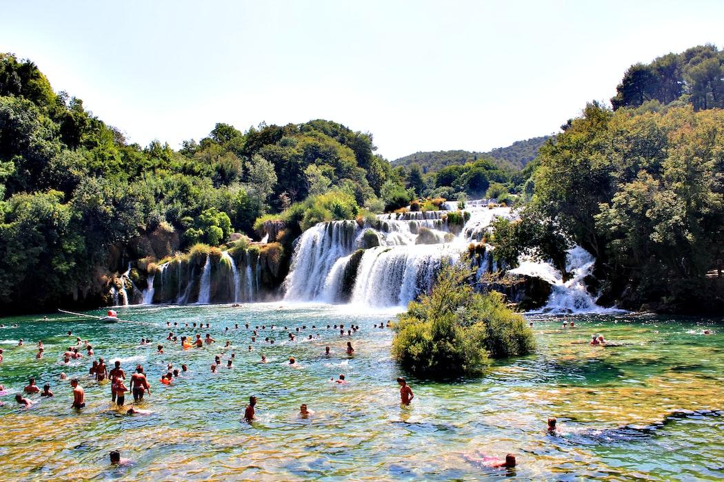 Krka National Park, Best places to visit in Croatia in June