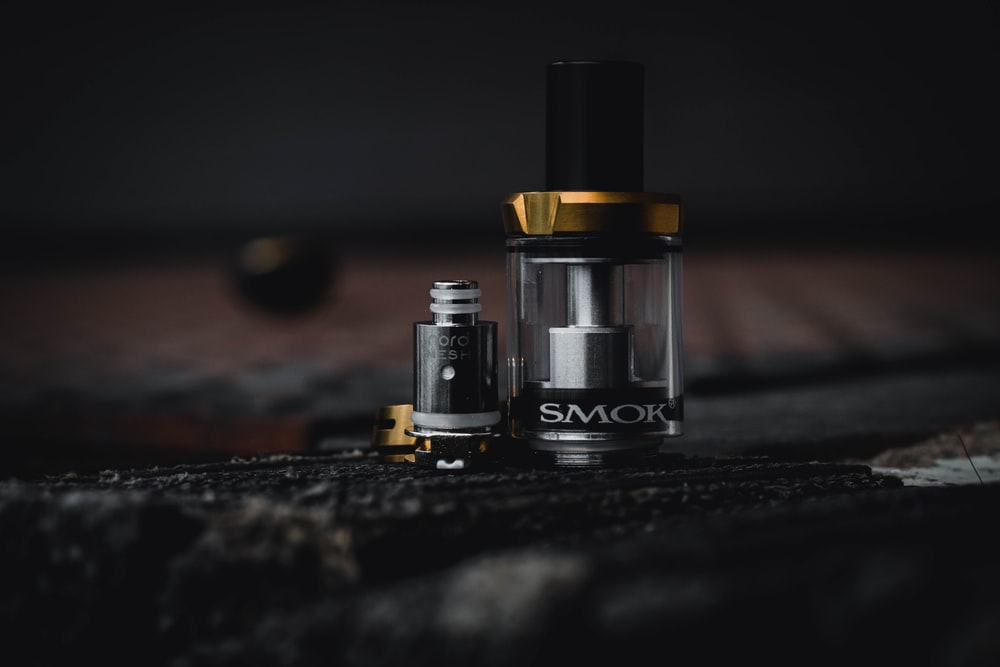 clear and black SMOK atomizer