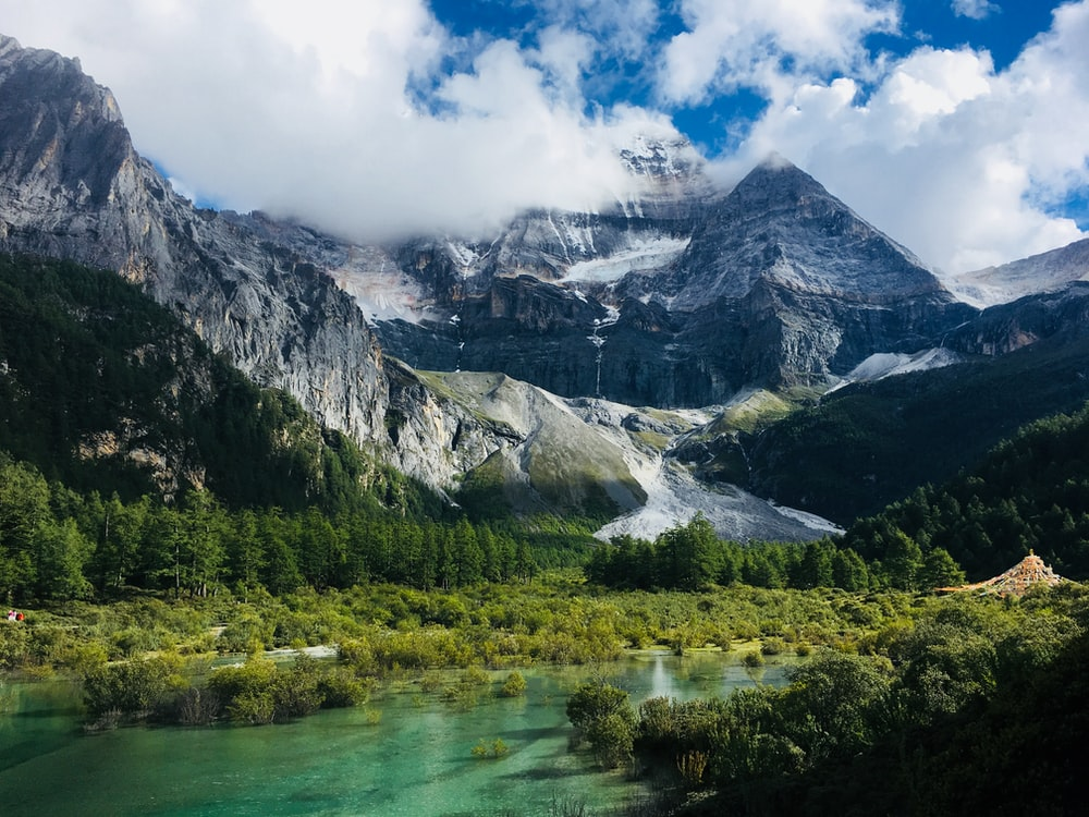 landscape photography of mountain during daytime