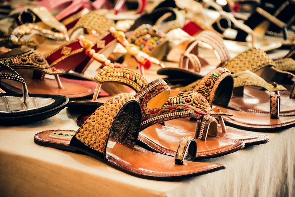 flat sandal lot