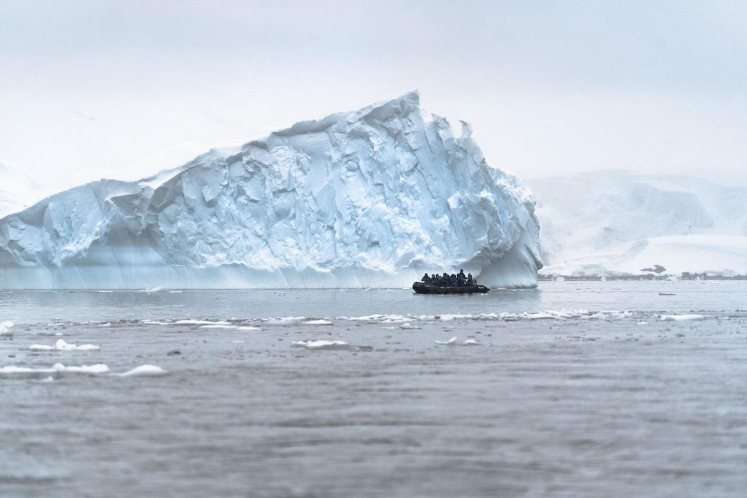 Cruising amongst the giants in Antarctica