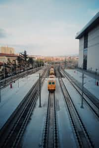 Trains           (My first reverse poem)  trains stories