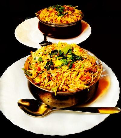 Biryani - a bowl of happiness
