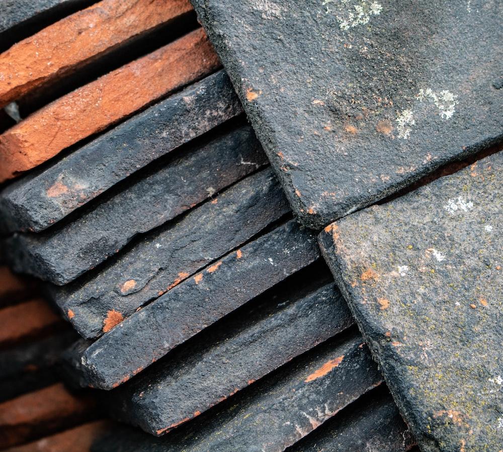 pile of concrete block