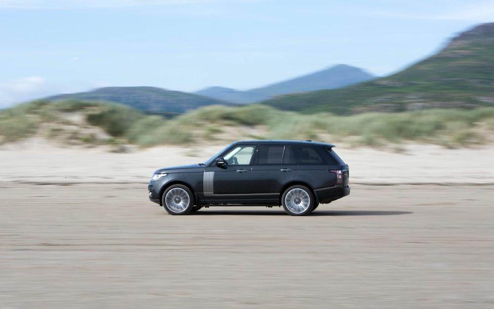 black Range Rover Land Rover SUV