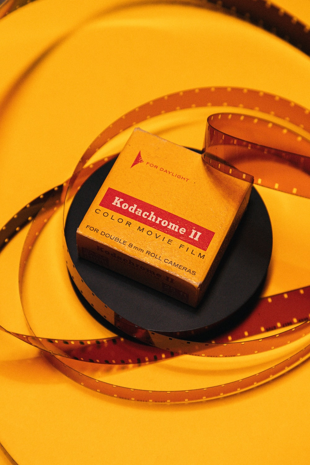 Kodachrome 2 color movie film box