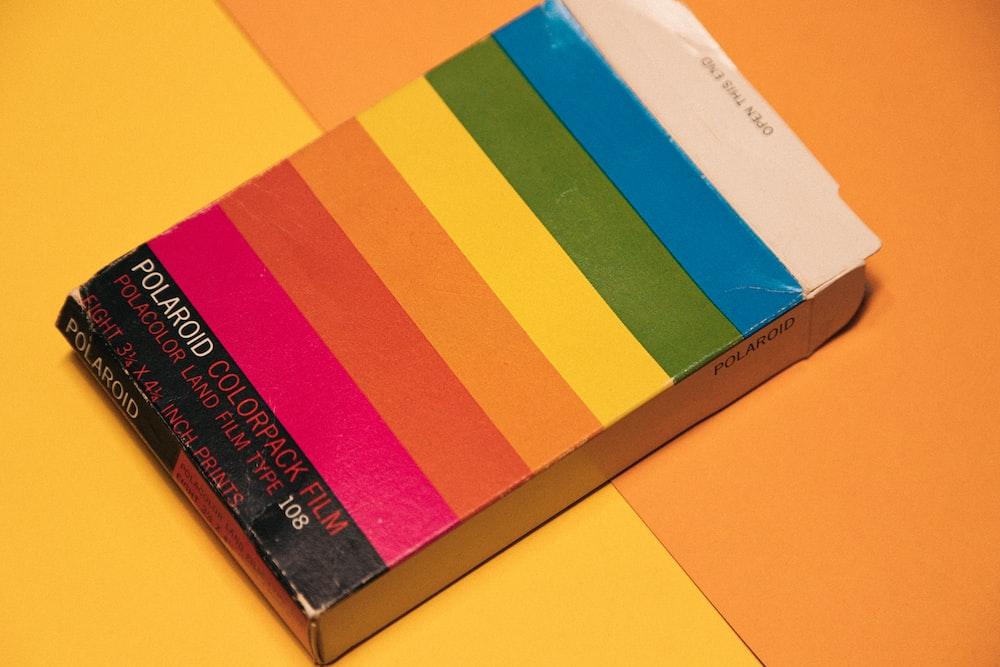 Polariod Colorpack Film box