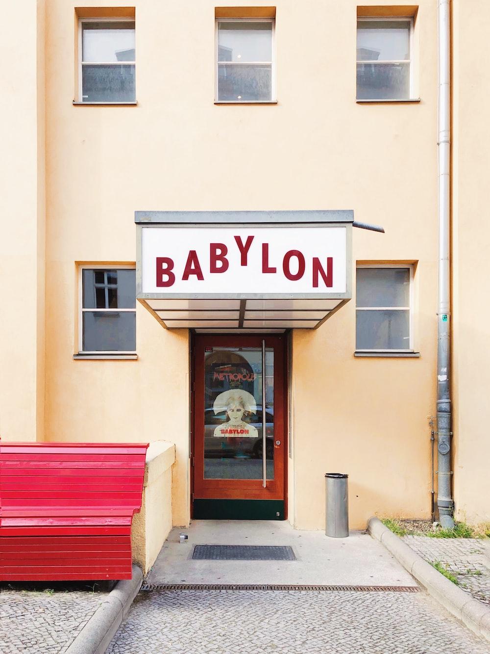 Babylon building