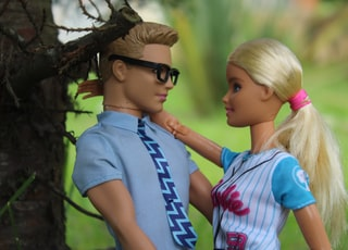 Barbie and Ken doll