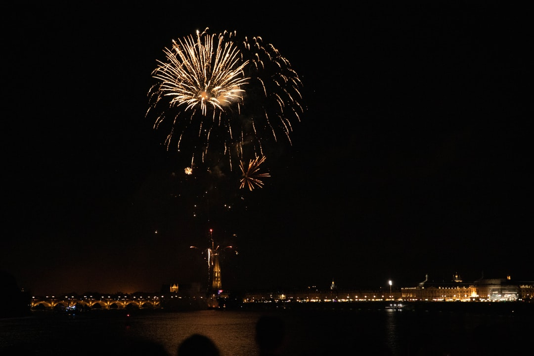 Firework, July 14, French national day