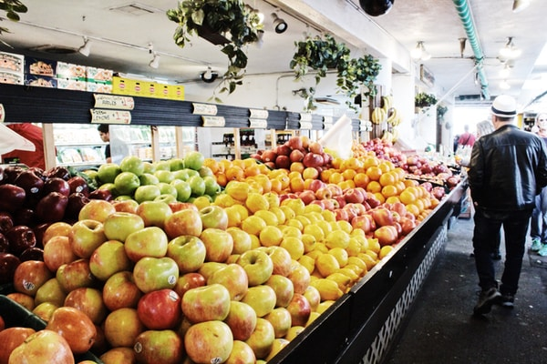 THE BEST WAY TO TOUR A CITY IS THROUGH ITS GROCERY STORE