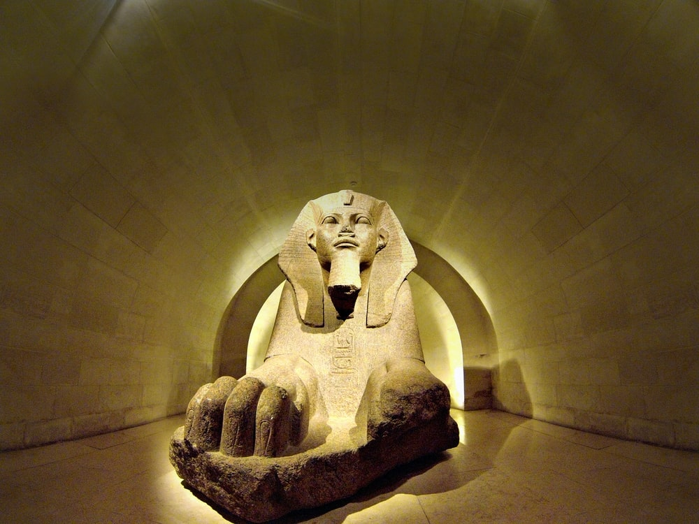 The Sphynx statue